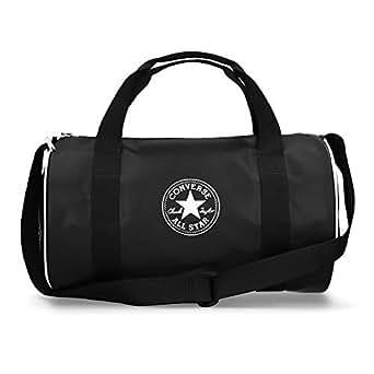 Desigual Matilde Gym Bag Sporttasche Umhängetasche Tasche Blanco Weiß Blau