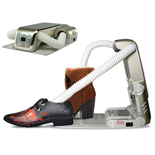 Skalierbare Folding Schuhtrockner,gegen Geruch Antibakterieller Desinfektion Stiefel Trockner Zwangsluft Boot Warmer Intelligente Für Schuhe Handschuhe Hüte Socken Skischuhe-silber(7x11x3inch) -