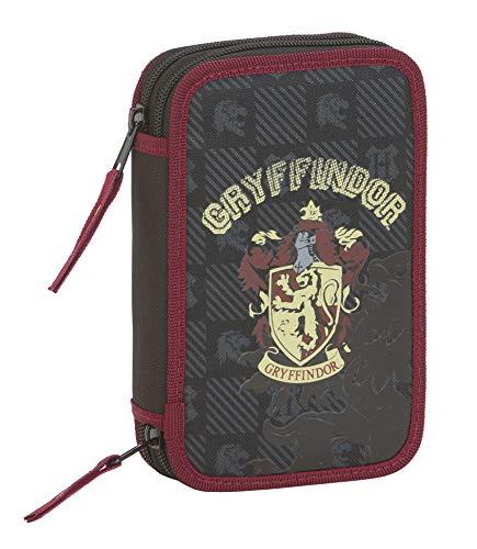 Safta - Plumier Doble Harry Potter Oficial Gryffindor