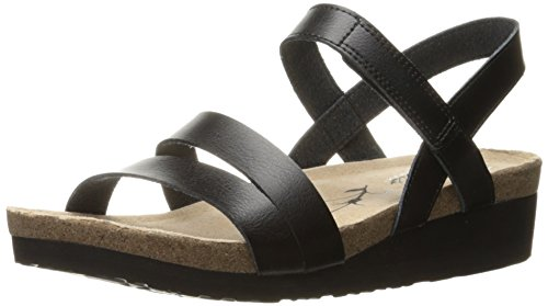 Skechers , Damen Sandalen, schwarz - Schwarz - Größe: EU 38