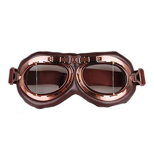 fb91f84ef38e FDBF Vintage Motorcycle Goggles Motocross Aviator Pilot Bicycle Glasses  Eyewear