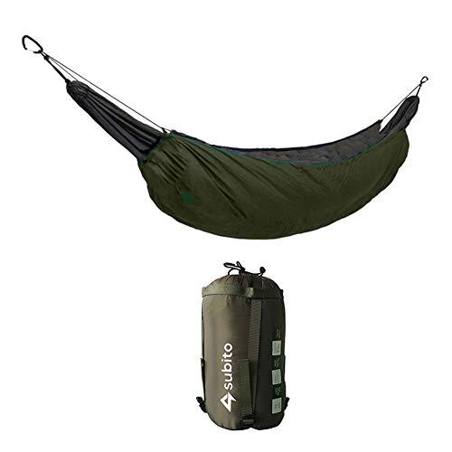 YGQersh Sac de Couchage Hamac Camping Couverture Légère Ultralight Isolation - Vert Armée