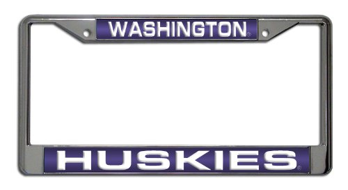 Unbekannt NCAA Laser Chrom Teller Rahmen, Washington Huskies