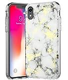 Bslvwg Coque ultra-fine en polyuréthane souple pour iPhone XR avec écran de...