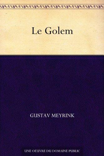 Couverture du livre Le Golem
