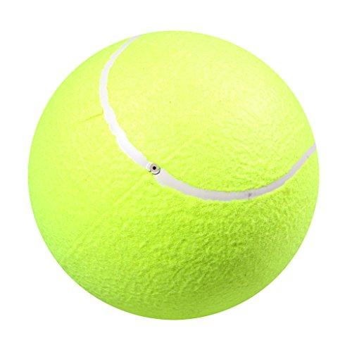 Sharplace Großer Aufblasbarer Tennisball Für Kinder Erwachsenen Spaß Haustier Hunde Spielzeug
