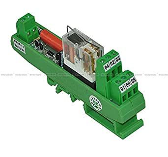 Shavison Relay Module AS431-230VAC-S-OE, 2C/O, 1 Channel, 230VAC Coil, OEN Relay, Socket Mounted Relay, Isolated Coils, Contact Rating : 28VDC/230VAC, 5A