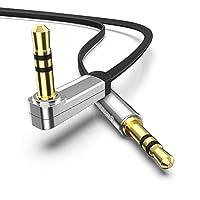 Qualità audio di alta qualità che li contatti: Il cavo audio proviene dalla linea di rame senza ossigeno per la massima capacità e resistenza alla ruggine. Contatti dorati a 24carati garantiscono il massimo livello di qualità del suono puro...