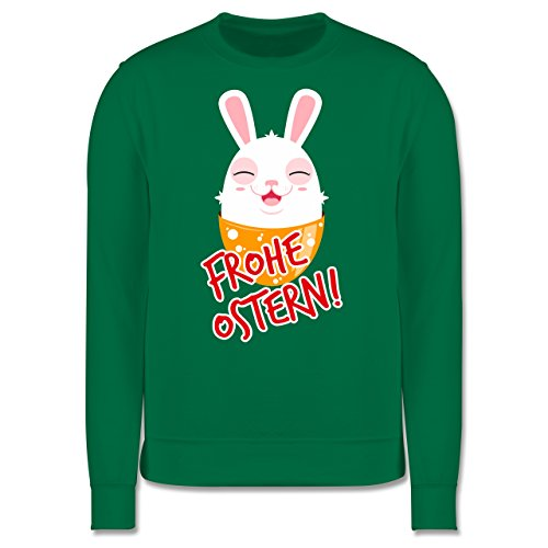 Ostern - Frohe Ostern - Osterhase - Herren Premium Pullover Grün