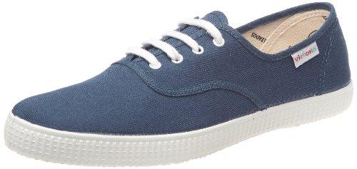 Victoria Inglesa Lona 6613, Zapatillas de Tela Unisex, Azul (Aceite), 36