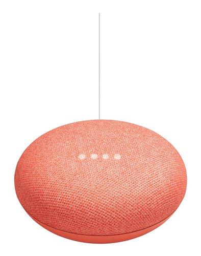 Google Mediaplayer Home Mini Coral Orange Red, ga00217de (Orange Red)