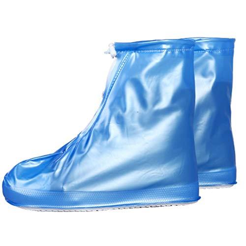 Überschuhe für Regenschuhe, Überschuhe, Überschuhe, für Reisen, für Herren und Kinder, Bluem, Einheitsgröße