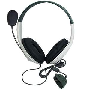 BargainUniverse® STEREO HEADSET HEADPHONE EARPHONE MIC LIVE FOR XBOX 360 --- by bargain universe