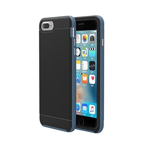 BING Für iPhone 7 Plus Trennbare Bumblebee TPU + PC Kombi-Gehäuse BING ( Color : Grey ) Dark Blue