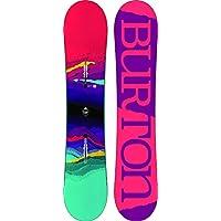 Burton Kinder Freestyle Snowboard Feelgood Smalls 135 2018 Girls