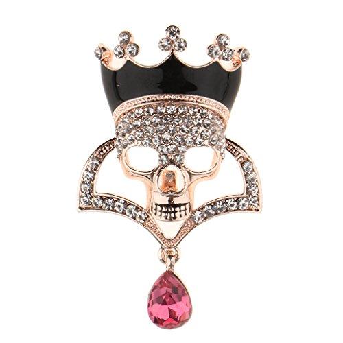 FITYLE Broche De Broche De Diamantes De Imitación De Cristal -...