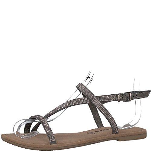 35f963664db4a2 Tamaris Schuhe 1-1-28143-38 bequeme Damen Sandalette