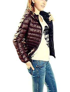 Vovotrade Chaqueta de manga larga con capucha para mujer