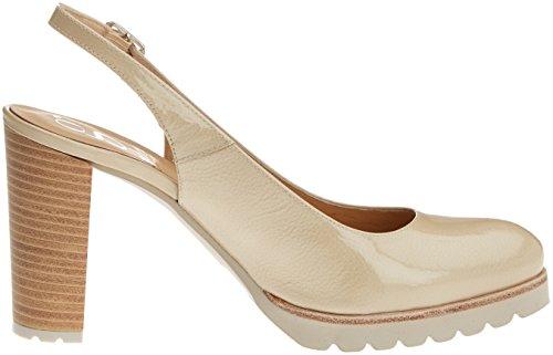 Gadea 40640, Chaussures à Talon avec Bout Fermé Femme Beige