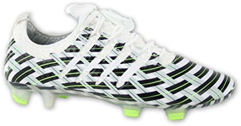 Puma Herren Fußballschuhe weissszlig White  Black  Green S/M