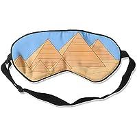 Egyptian Pyramids Of Giza 99% Eyeshade Blinders Sleeping Eye Patch Eye Mask Blindfold For Travel Insomnia Meditation preisvergleich bei billige-tabletten.eu