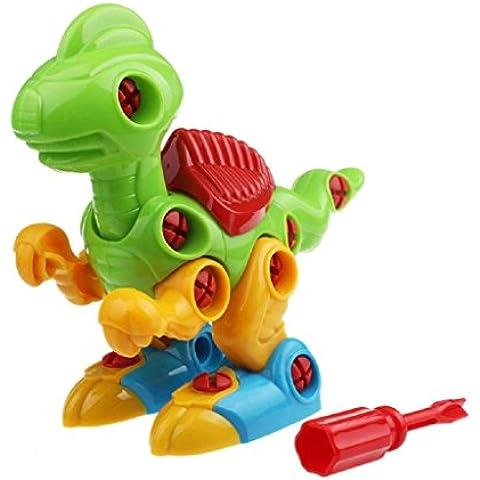 Fortan Desmontaje Diseño dinosaurio juguetes educativos para niños Kids