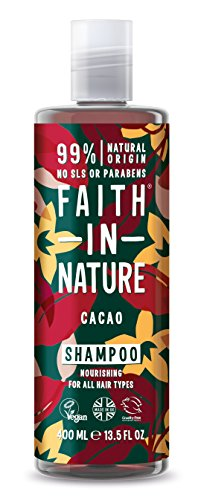 Faith In Nature Schokolade Shampoo für alle Haartypen,...