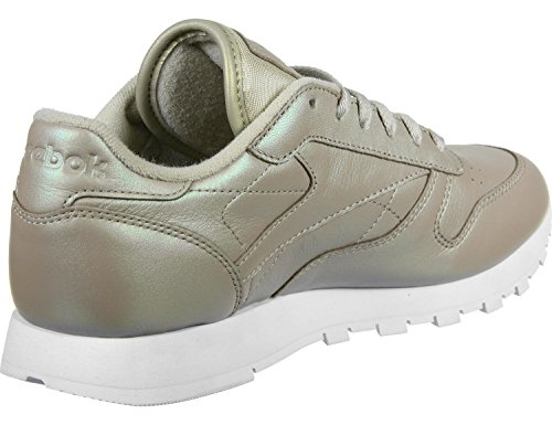 Reebok Classic Leather Pearlized Donna Sneaker Rosa GOLD|METALLIC
