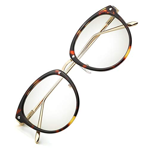 TIJN Blaulichtfilter Gaming Brillen für PC Computer Gläser Anti Blaulicht Schutzbrille Anti-Blendschutz Anti-Reflektierend Anti- Ermüdung