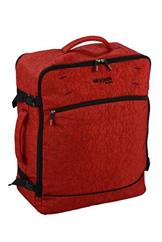 Skyflite London-estremamente leggero come bagaglio/Carry On valigia/bagaglio a mano Red Carry-on