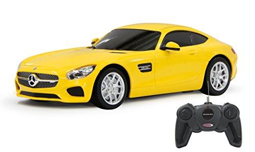 Jamara - 405074 - Mercedes Amg GT 1:24 Jaune 27Mhz -