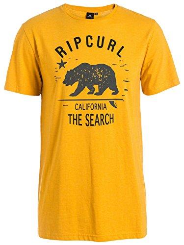 rip-curl-search-in-california-tee-herren-t-shirt-m-amarillo-golden-marle