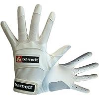 Barnett BBG-01 - Guantes de bateo de béisbol blanco blanco Talla:large