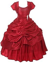 9556f45f5 Satin Girls  Dresses  Buy Satin Girls  Dresses online at best prices ...