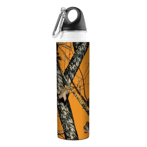 Cabelas Camo (Tree-Free Greetings Baumfreie Grüße vb48970Künstlerische Traveler Edelstahl Wasser Flasche, Blaze Mossy Oak Camo,-511ml)
