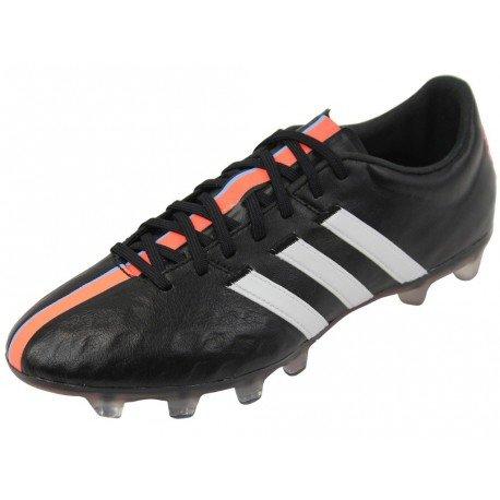 Adidas 11Pro FG Fussballschuhe core black-runnig white-flash orange - 41 1/3