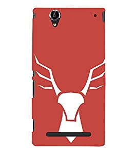 EPICCASE wild deer Mobile Back Case Cover For Sony Xperia T2 (Designer Case)