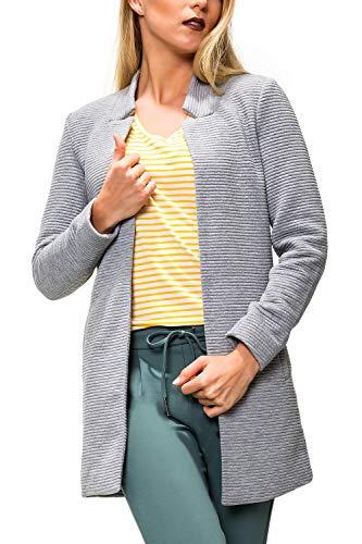 ONLY Damen Übergangsmantel Kurzmantel Long Blazer (XS, Colour 2)