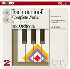 Rachmaninov: Complete Works for Piano and Orchestra