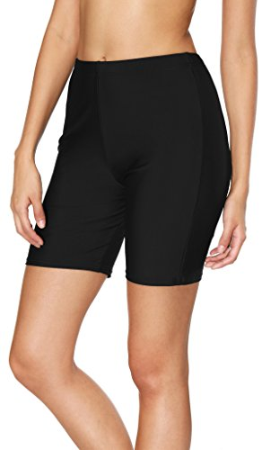 ATTRACO Women Sports Swimming Shorts Boyleg Swim Jammers Surfing Beach Bottom