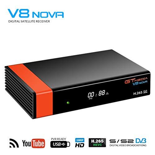 GT Media V8 Nova DVB-S2 Receptor TV Satélite Decodificador Digital Satelite con...