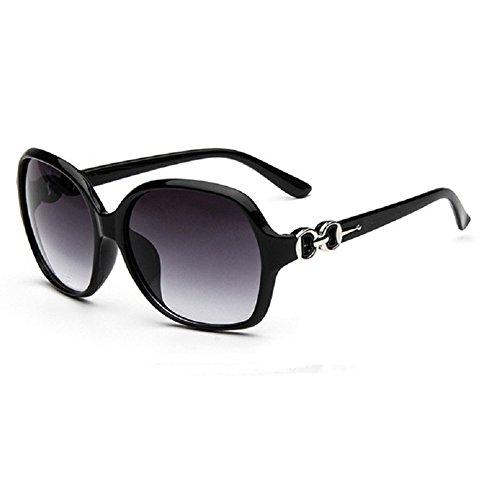 O-C da donna Classico & Fashion WAYFARER occhiali da sole 59mm nero Black