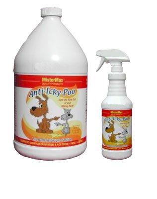 MisterMax Anti Icky Poo Odor Remover Gallon and (1) Quart Set