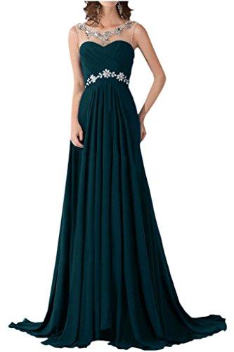 Royaldress Olive Gruen Chiffon Lang Abendkleider Ballkleider ...
