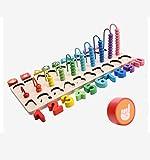 ZLJ Kinder pädagogische Bausteine   Spielzeug Digitale Board Anerkennung intellektueller Entwicklung -