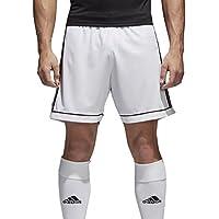 adidas Squad 17 - Pantaloncini Uomo, Bianco, L