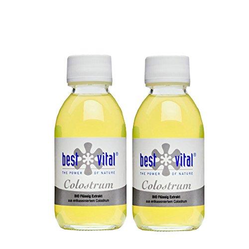 Bio-Colostrum direct bestellen von best vital Extrakt 125ml, Immunabwehr (2 x 125 ml)