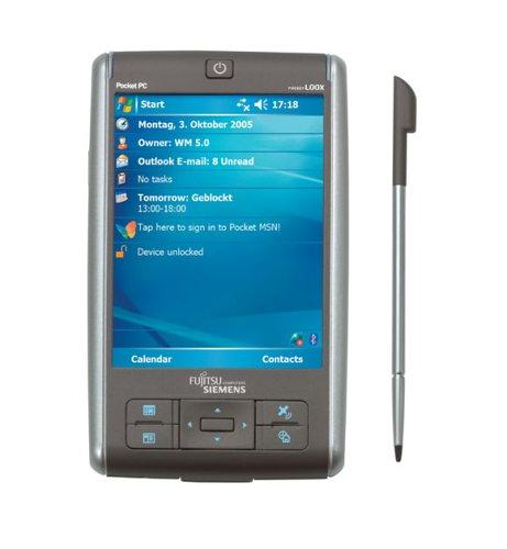 Fujitsu Siemens Pocket Loox C550 Pocket PC Handheld PDA Fujitsu Pda