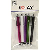 Kolay High Capacitive Aluminium Stylus Pen for Huawei Ascend Mate 2 (Pack of 5) preiswert