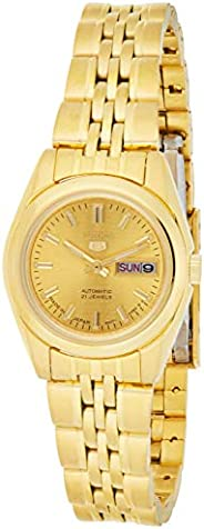 SEIKO Women's Automatic Watch, Analog Display and Stainless Steel Strap SYMA